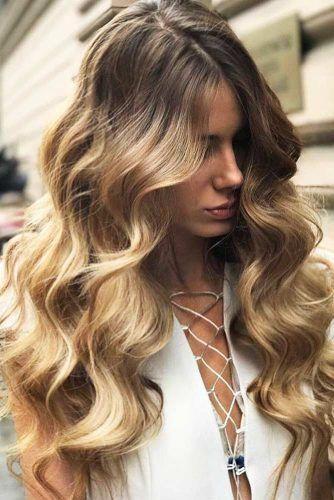 Pin On Long Hair Curls