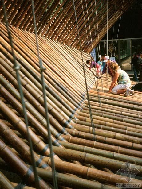 Rocco Design Architects | Bamboo Construction At MOCA | Photo.zhulong |  Bambu | Pinterest | Design Architect, Construction And Architects
