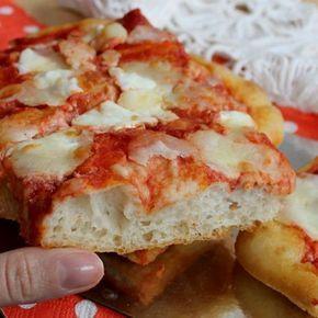 Ricetta Pizza Con Lievito Di Birra.Pizza Ad Impasto Molle Con Lievito Di Birra Ricette Ricette Di Cucina Cibo