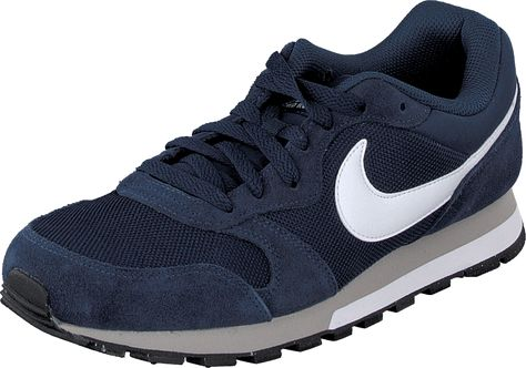 100% top quality the latest affordable price Nike MD Runner 2 Midnight Navy/White-Wolf Grey   fritid ...