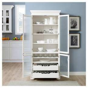 Alexandria Kitchen Pantry White Crosley White Kitchen Storage