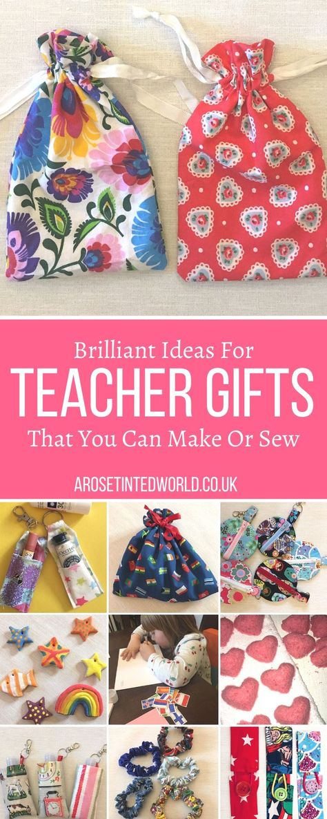 Teacher Gifts That You Can Make Or Sew