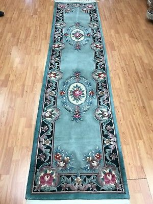 2 6 X 10 Chinese Aubusson Floor Runner Oriental Rug Hand Made 100 Wool Rugs Rugs And Carpet Bohemian Rug