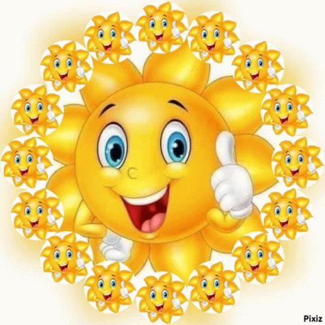 Thumbs Up Smile GIF - ThumbsUp Smile Sun - Discover & Share GIFs