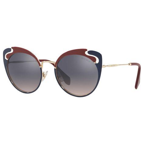 50de29aed99f BuyMiu Miu MU 57TS Women s Cat s Eye Sunglasses