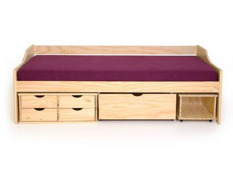 Funktionsbett 180x200  Bett mit Schubladen Maxima Funktionsbett Kinderbett Sofabett ...