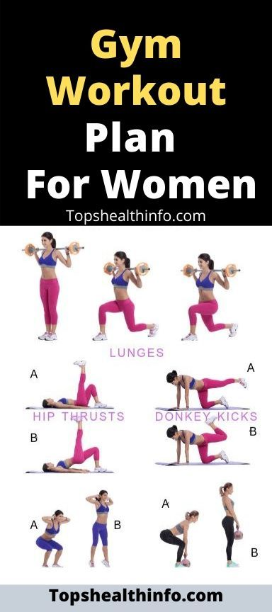 Gym Workout Plan For Women Gym Workout Plan For Women Workout Plan Gym Workout Plan For Women