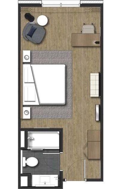 Hotel Room Radisson Hotel Room Layout Denah Rumah Rumah Desain