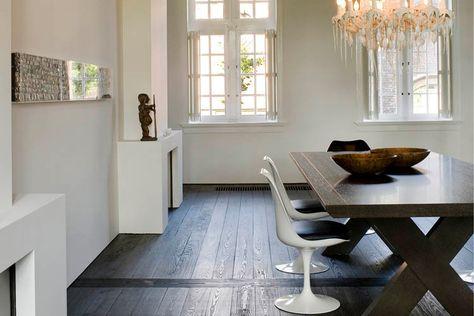 Donkere Woonkamer Inrichten : Waarom een donkere vloer zo goed staat in een woonkamer interieur