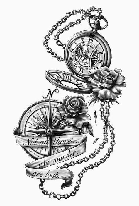 Pocket Watch Tattoo On Hand . Pocket Watch Tattoo On Hand . Broken Pocket Watch Tattoo by tony Nguyen Trendy Tattoos, Cute Tattoos, Leg Tattoos, Beautiful Tattoos, Body Art Tattoos, Tattoo Drawings, Tattoos For Guys, Tattoo Thigh, Tatoos