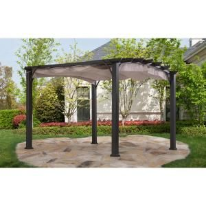 The Effortless Beauty Of This Pergola Is Sure To Elevate Your Outdoor Patio Game Its Durable And Sturdy Frame Has Outdoor Pergola Pergola Plans Pergola Patio