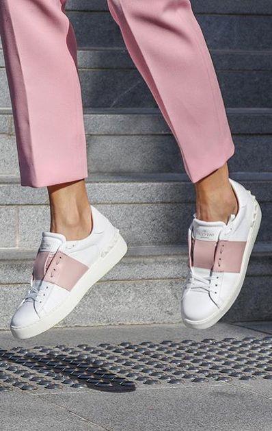 فخ بكرة الثعلب valentino shoes