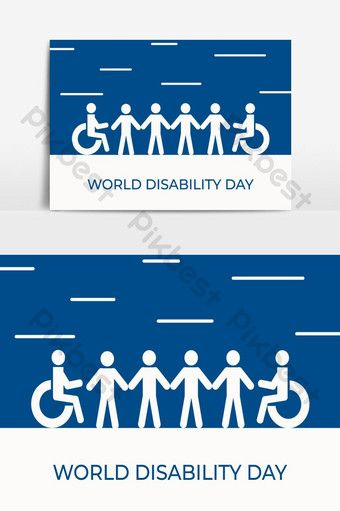 World Disability Day With Disability People Icon Png Images Ai Free Download Pikbest People Icon Geometric Poster Greeting Card Illustration