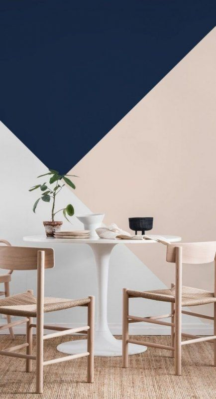 Color Trends 2021 Starting From Pantone 2020 Classic Blue In 2020 Blue Accent Walls Navy Blue Walls Blush Living Room