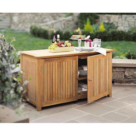 Outdoor Storage Cabinet Patio, Outdoor Sideboard Cabinet