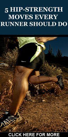 For more tips on hip strength training for runners, go to: http://www.runnersblueprint.com/strength-training-hips-for-runners/ #RunnersStrength #Runnerships