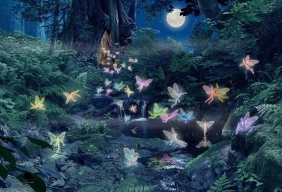 Fairy folklore has been around for centuries. Many people actually believe fairies exist in another realm that is invisible to the naked eye. Magical, Fairy, Diamond Painting, Angel Aesthetic, Painting, Art, Forest Fairy, Fae Aesthetic, Ethereal Art