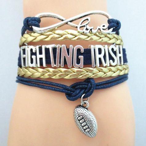 Fighting Irish Bracelet | UNISUP – University Supplies