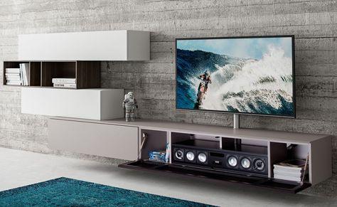 Mobiele Tv Meubel.Spectral Next Modern Tv Meubel