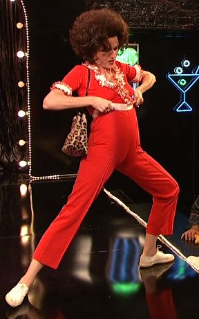 """The only way to celebrate Molly Shannon's 50th — the Sally O'Malley skit! """"I'm 50 years old!"""""""