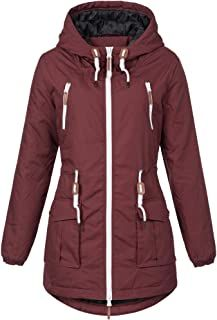 Winter Sublevel Parka Damen Matilda Mantel Jacke Winterjacke OkiXPZu
