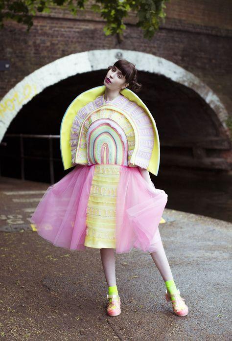 Fashion Print Textiles Designer Graduate from Central Saint Martins, Fashion Ba (Hons) Email: