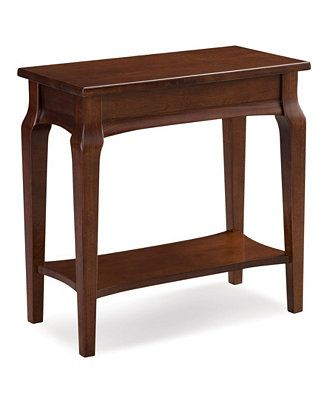 Leick Home Stratus Narrow Chairside Table Reviews Macy S Chair Side Table End Tables Furniture