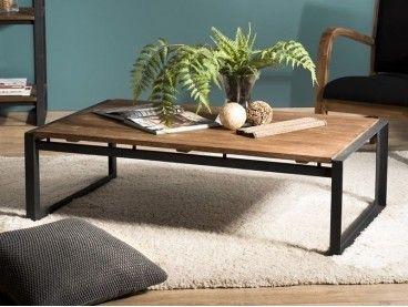 Table Basse Sicilia En Fer Forge Haut De Gamme Meuble De Salon Lotusea En 2020 Table Basse Meuble Haut De Gamme Table Basse Teck