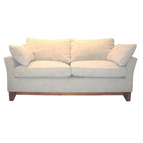 Customizable Slipcover Available Contemporary Sofa From