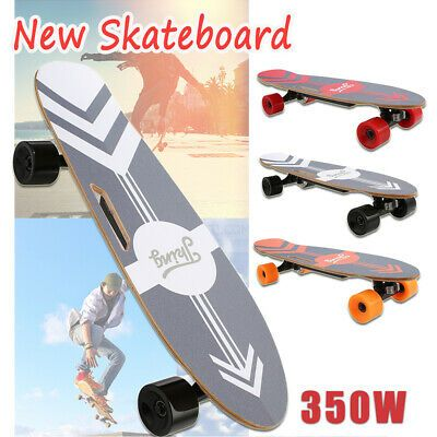 Advertisement Ebay Adult 3 Speed 350w Electric Skateboard Battery Powered Remote Control New A In 2020 With Images Electric Skateboard Motorized Skateboard Foldable Electric Bike