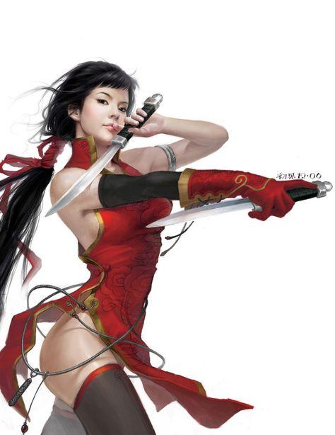 Red angell of revenge by yangqi