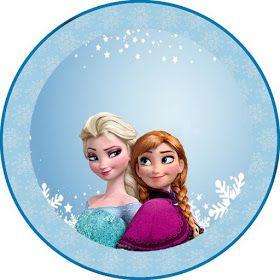 Carinho De Mae Kit Frozen Aniversario Frozen Decoracao Festa Frozen Festa De Aniversario Da Frozen