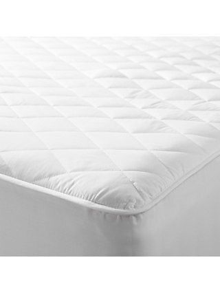 John Lewis Partners Specialist Synthetic Waterproof Quilted Mattress Protector Mattress Waterproof Quilt Mattress Protector