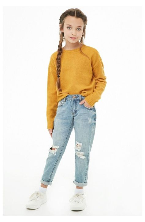 Casual Outfits For Girls, Cute Girl Outfits, Little Girl Outfits, Kids Outfits Girls, Cute Outfits For Kids, Trendy Outfits, Cool Outfits, Kids Girls, Teenage Outfits