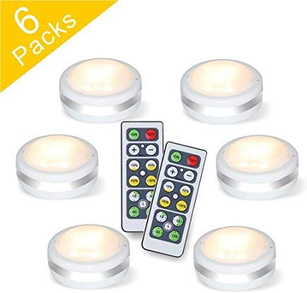 Puck Lights With Remote Starxing Wireless Led Puck Lights Battery Operated Led Puck Lights With Remote Led Puck Lights Puck Lights Led Under Cabinet Lighting