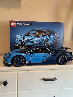 Lego Technic Bugatti Chiron 42083 Complete Bugatti Chiron Lego Technic Bugatti