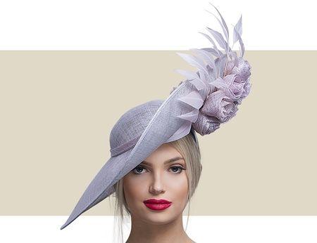 Pink tea party hats Crystal wedding hat pink rose Royal Ascot hat Kentucky derby hat pink womens dress hats Original races hat pink,