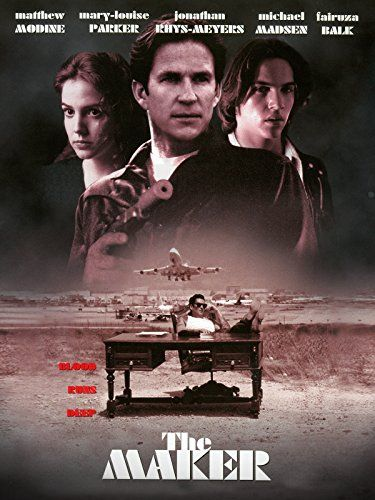 The Maker 1997 Movie Posters Movie Tv Movies