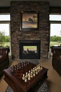 23 Two Sided Fireplace Designs in the lounge | Double sided ...