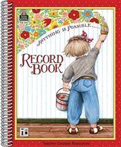 Anything Is Possible Record Book Mary Engelbreit TCR3917 Teacher Created Resources Record Books | K12 School Supplies | Teacher Supplies
