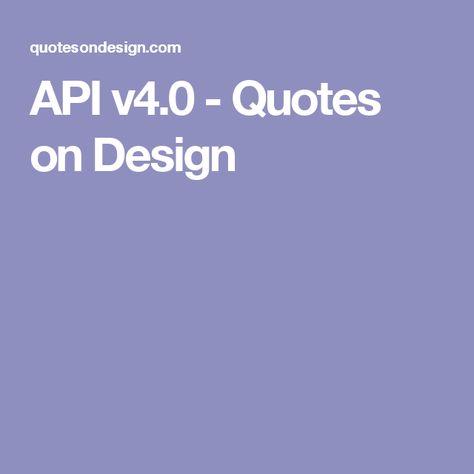 api v quotes on design quotes got quotes design