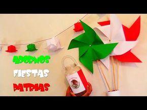 3 Ideas Tricolor Decorativasfiestas Patriascuriocity