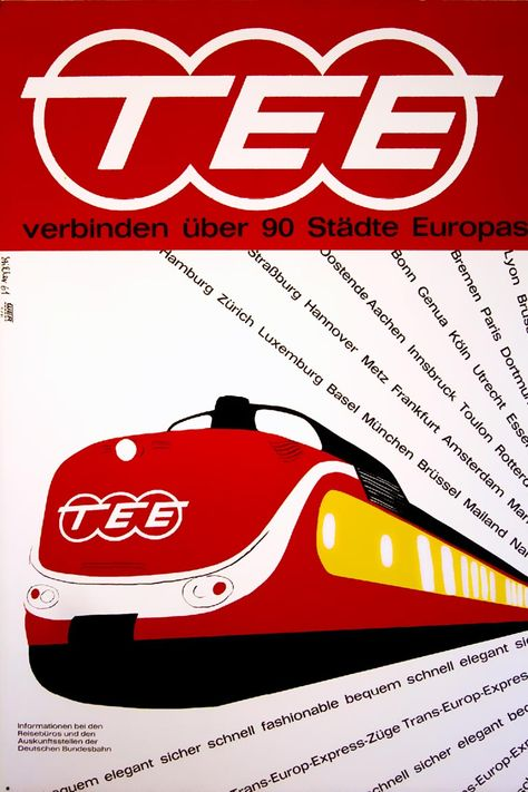 trans europ express poster - Google zoeken