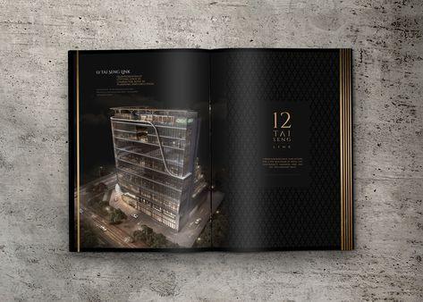 Luxury Property Brochure Design Concept
