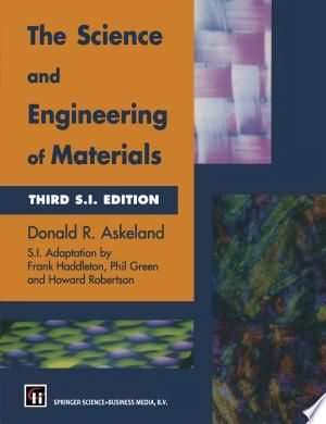 The Science And Engineering Of Materials Pdf By Donald R Askeland