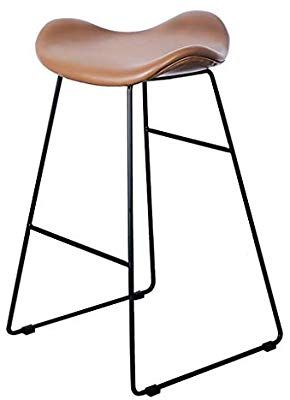 Amazon Com Bar Stool Nordic Personality Bar Chair Retro High