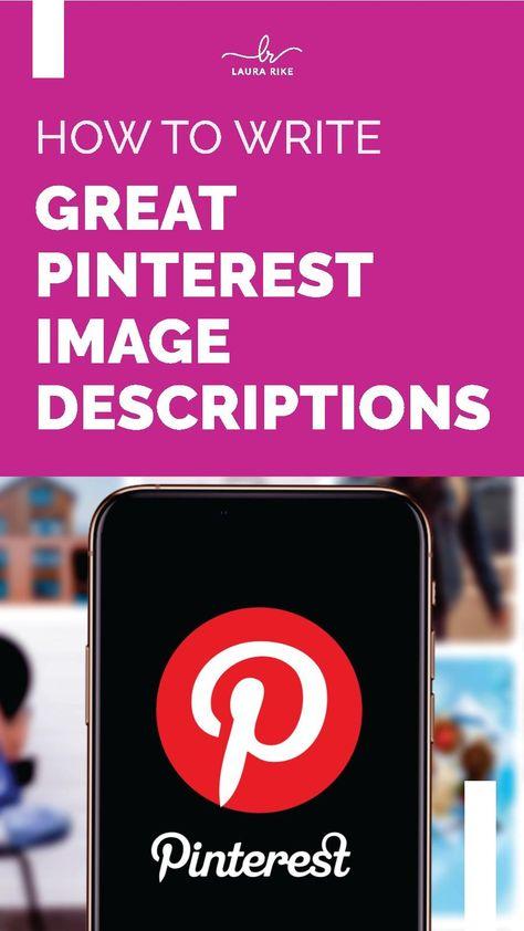 The Key To Effective Pinterest Pin Descriptions