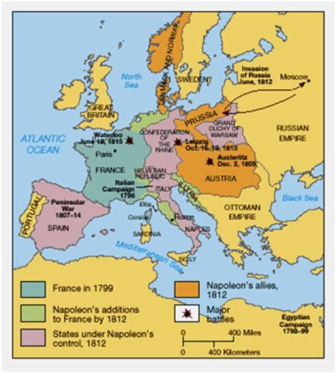 map of europe in 1799 Europe during Napoleon's Empire (1799 1812) | Map, Historical maps