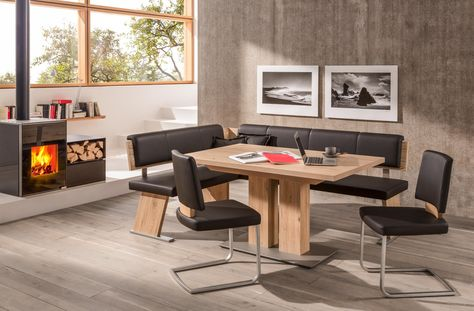 Eckbankgruppe Von Wossner Eichefarben Veredeln Ihr Wohnambiente Haus Deko Esszimmer Mobel Tisch Und Stuhle