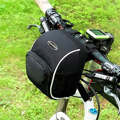 f4257d4218b Tancendes Bicycle Cycling MTB Bike Basket Front Frame Tube Handlebar Bag  with Rain Cover Review